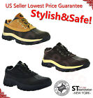 "Mens Work Boots 4"" Short Winter Snow Boots Work Shoes Leather Waterproof 3017"