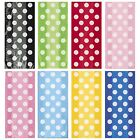Polka Dots 20 CELLOPHANE BAGS Spots Spotty Birthday Party Loot Cello Gift Treat