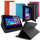 "LUXFOLIO STAND LEATHER CASE WALLET FOR CONNECT 7"" TABLET"