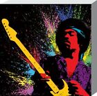 New PopArt Guitar Legend Jimi Hendrix Canvas Print