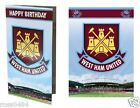 West Ham United FC Birthday Card Selection Gift
