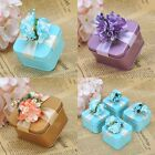 60PCS Gold/Blue/Purple Tin Favor Boxes Wedding Shower Party Birthday Candy Box