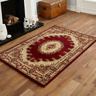 MEDIUM MODERN LARGE SMALL ELEGANT CLASSIC RED CREAM  COLOUR BEST QUAILTY RUGS