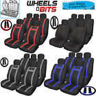 BMW Mini Peaceman Universal PU Leather Type Car Seat Covers Full Set Wipe Clean