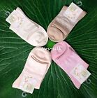 Womens Ladies Girls Mulberry Silk Thermal Ankle Socks One size AF491