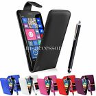 FLIP CASE POUCH PU LEATHER COVER FOR NOKIA / MICROSOFT 535 LUMIA + SG+ PEN