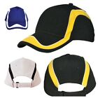 NEW WOMENS MENS MESH POLO SUN CAP HAT WORK SPORT SPORTS COOLDRY LIGHT BLACK HATS