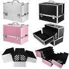 Extra Large Space Storage Beauty Box Make up Jewelry Cosmetic Vanity Case