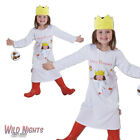 FANCY DRESS COSTUME ~ GIRLS LITTLE PRINCESS CARTOON BOOK OUTFIT AGE 2-6 YEARS