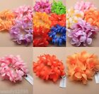 PACK OF 6 LADIES SCRUNCHIES, BUN RINGS, HAIR BANDS, FESTIVAL, GARLAND, FLORAL