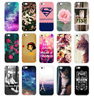 New Various Fashion Pattern Hard Case Cover Back Protector For Apple Iphone 5 5S