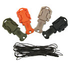 Mini Multifunction EDC Knife Pocket Survival Tool For MOLLE Webbing Self Defense