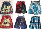 Boys Official Character Swimming Trunks - Sizes 2-12 Years - Ben 10 Spongebob &.