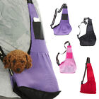 Small Pet Dog Cat Carrier Shoulder Sling Bag Tote Outside Travel Nylon Bag USA
