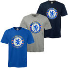 Chelsea Football Club Official Soccer Gift Mens Crest T-Shirt