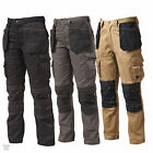 Apache Heavy Duty Cargo Work Wear Cordura Trousers Kneepad & Holster Pockets