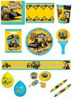 MY 1ST JCB Birthday PARTY Construction/DIGGER Tableware Decorations & Balloons