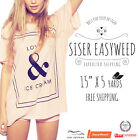 """New Siser Easyweed IRON-ON Heat Transfer Vinyl 15""""x 5 Yd FREE EXPEDITED SHIPPING"""