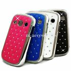 DIAMANTE BLING GLITTER BACK CASE COVER SKIN FOR SAMSUNG GALAXY FAME S6810 S6810P