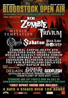 BLOODSTOCK OPEN AIR 2015 Rob Zombie PHOTO Print POSTER Within Temptation Opeth 1