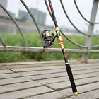 Carbon Telescopic Spinning Pole Saltwater Casting Sea Fishing Rods Adjustable