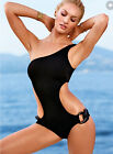 Alluring Fashion Girls Sexy Swimsuit Solid One Piece Body Con Mini Swimwear Sets