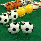 FUNKY SPORTS CUFFLINKS COOL HOBBY FUN TEAM GAME RETRO KITSCH NOVELTY DADS GIFT