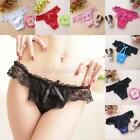 New Fashion Sexy Women's Lingerie Bowknot Lace Underwear Panties Knickers L50