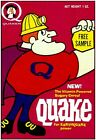 1960s QUAKE cereal box replica fridge magnet - NEW!