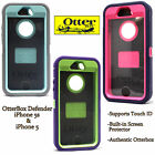 NEW AUTHENTIC OtterBox Defender Series Case For iPhone 5S 5 S Blue Green Pink