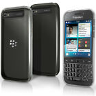 Glossy TPU Gel Case for BlackBerry Classic Q20 Skin Cover + Screen Protector