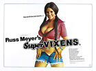 """SUPER VIXENS""..Russ Meyers Classic "" B"" Movie Poster 2.. A1A2A3A4Sizes"