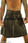 Soft Supple Cowhide Genuine Leather Gladiator Kilt3 size 28 30 32 34 36 38 40 42