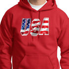USA Patriotic Flag Red White and Blue Tee Stars and Stripes Hoodie Sweatshirt