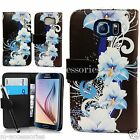 FLORAL WALLET FLIP PU LEATHER CASE COVER POUCH FOR SAMSUNG GALAXY MOBILE PHONES