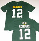Green Bay Packers T-Shirt #12 Rodgers Boy's size Small (8), NWT
