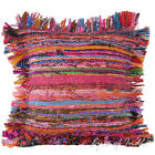 """LARGE SELECTION - 12"""" PINK CHINDI PILLOW CUSHION THROW COVER Hippie Bohemian"""