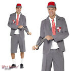 "FANCY DRESS COSTUME # MENS SCHOOL BOY UNIFORM COSTUME SIZE 38""-44"""