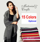 Hot-Sale Thick Women's 4 Ply 100% Wool Cashmere Shawl Scarf Wrap Warm---15 Color