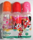 DISNEY BABY BOTTLE 3 PACK GIRLS BOYS PRINCESS MICKEY PAW PATROL SPONGE NEW