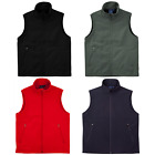 MENS SOFTSHELL CASUAL BUSINESS WORK DRESS BLACK NAVY CHARCOAL TOP VEST UNIFORM