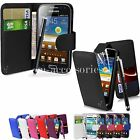 FLIP WALLET CASE POUCH PU LEATHER COVER FOR SAMSUNG GALAXY TREND PLUS S7580
