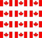 12 Canada flags vinyl stickers football baseball hockey soccer helmet car sport