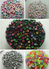 Choose Mixed color Acrylic Beads Mixed Color Cube Macroporous Beads 6mm DF511A