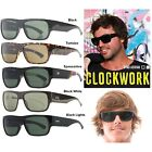 NEW Otis Clockwork Mineral Glass Lens Mens Rectangular Sunglasses Msrp$160