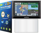 3x Clear LCD Screen Protector Cover Garmin Nuvi 67 67LM 67LMT 68 68LM 68LMT GPS
