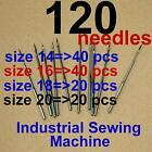 120 Industrial Sewing Machine Needles Dbx1 16x231 16x257 1738 Sy2270 for Singer