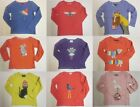 Girls top MINI BODEN Tshirt long sleeve baby 2 3 4 5 6 7 8 9 10 11 12 years NEW!