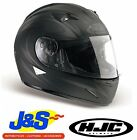 HJC IS-16 TYPE-O MOTORCYCLE HELMET FULL FACE INTERNAL VISOR CRASH HAT J&S