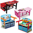 Choose from: Kids convertible Bench + Study Desk + Toy Box, PLANES, MICKEY